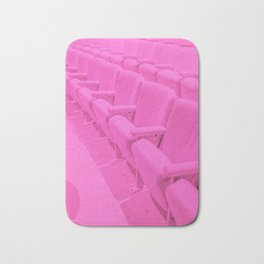 Pink Theater Seats in Palm Springs Bath Mat