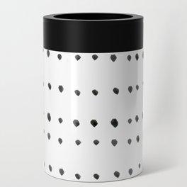 Modern boho dot Can Cooler