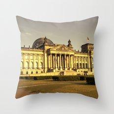 Reichstag Throw Pillow