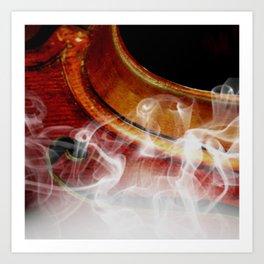 Musical memories Art Print