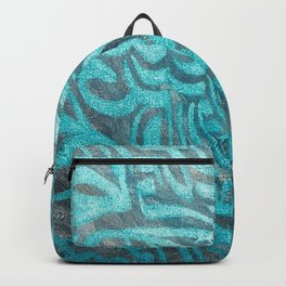 blue Rapping Backpack