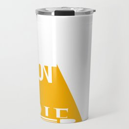 Shot the Serif Travel Mug