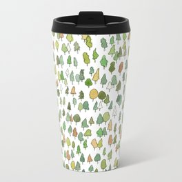 A Tree Falls Metal Travel Mug