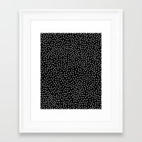 dots Framed Art Prints featuring Dots by Priscila Peress