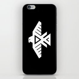 Thunderbird flag - Inverse edition version iPhone Skin