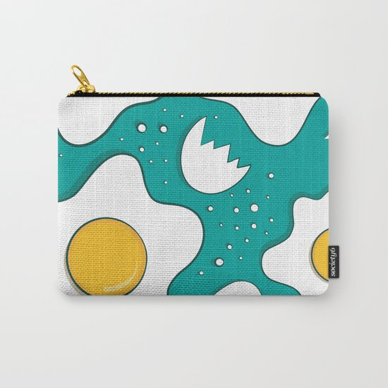 Fried Eggs Pattern Carry-All Pouch