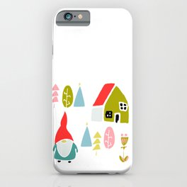 Christmas gnome iPhone Case