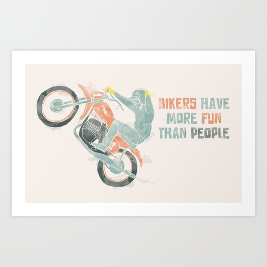 more fun Art Print