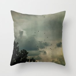 Flying Higher Throw Pillow