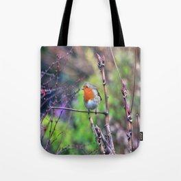 Garden Robin Tote Bag