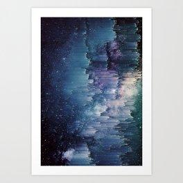 Iced Galaxy Art Print