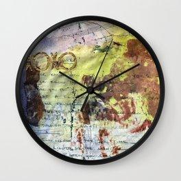 Fever Kisses Wall Clock