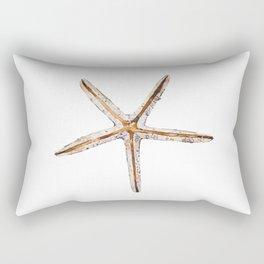 Blonde starfish Rectangular Pillow