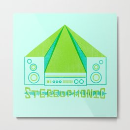 stereophonic Metal Print