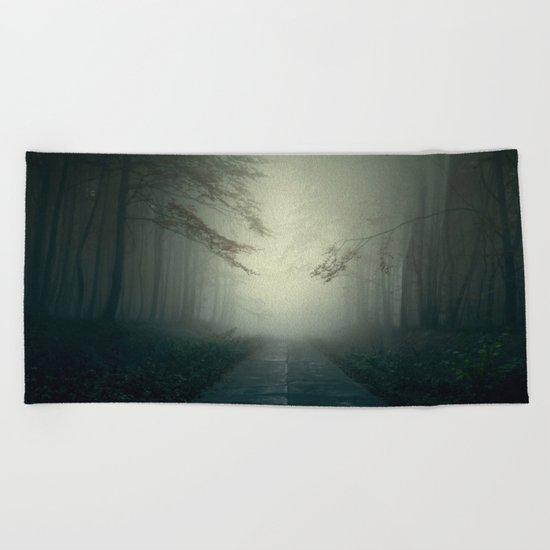 Foggy Stories Beach Towel