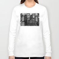 architecture Long Sleeve T-shirts featuring architecture Facade by Karl-Heinz Lüpke