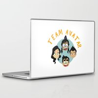 avatar Laptop & iPad Skins featuring Team Avatar by tukylampkin