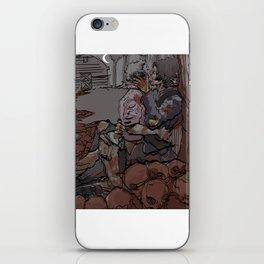 EROS AND THANATOS iPhone Skin