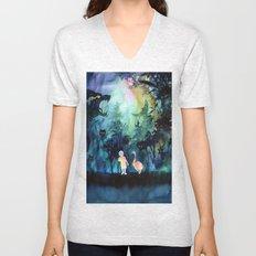 Deep forest Unisex V-Neck