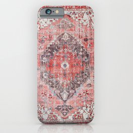 N62 - Vintage Farmhouse Rustic Traditional Moroccan Style Artwork iPhone Case