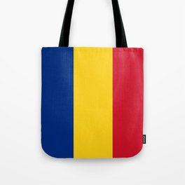 Flag of romania 3 -romania,romanian,balkan,bucharest,danube,romani,romana,bucuresti Tote Bag