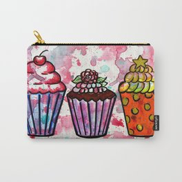Cupcake Trio Carry-All Pouch