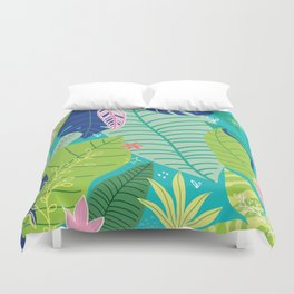 Southern Prepster Charm Duvet Cover