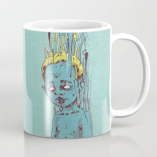 The Blue Boy with Golden Hair Mug