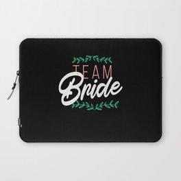 Team Bride Hen Bachelorette Party Idea Laptop Sleeve