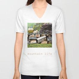 Mountain Life Unisex V-Neck