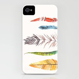 falling all around me iPhone Case