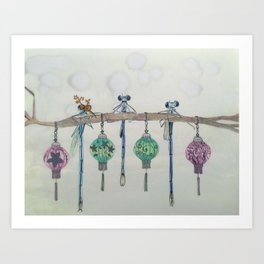 Office Party Art Print