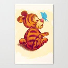 Baby Tigger Canvas Print