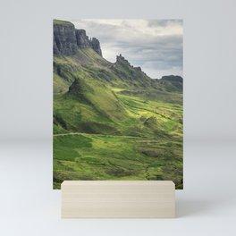 View of the Quiraing Mini Art Print