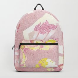 Pink Ballerina Backpack