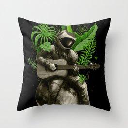 Astropical Strum Throw Pillow