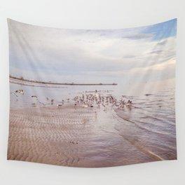 Beach Birds Wall Tapestry