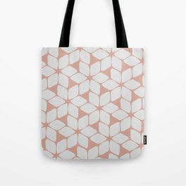 Blush Petals Tote Bag