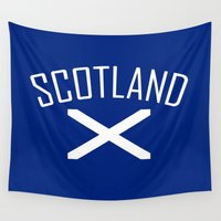 scotland Wall Tapestries featuring Scotland by Earl of Grey