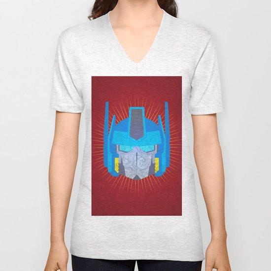 Optimus Unisex V-Neck
