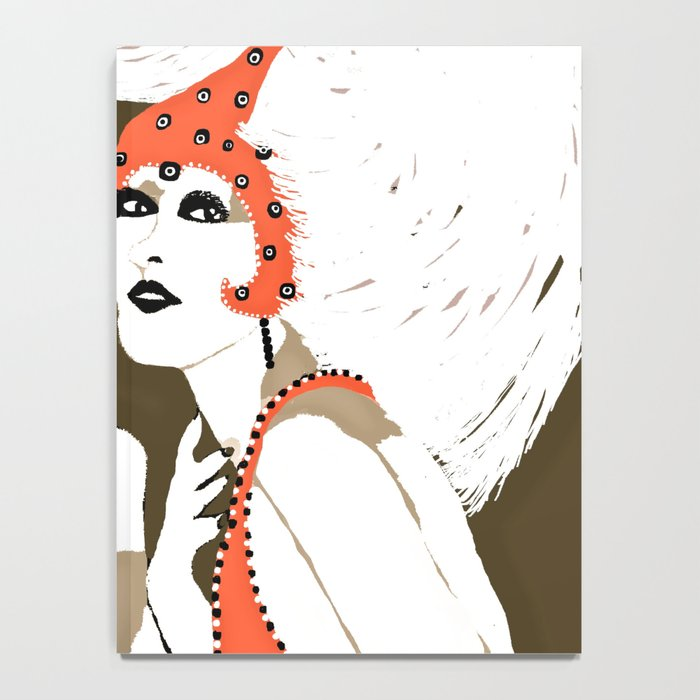 Woman Flappers Notebook