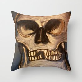 Once Upon an Ending Throw Pillow