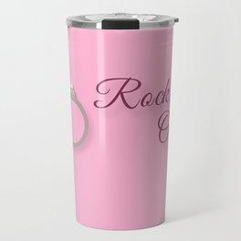 Rock On! Engagement Announcement Travel Mug