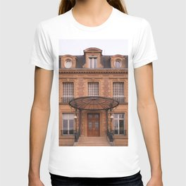 Facade at sunset I Charleville-Mézières, France I European architecture I Street photography T-shirt
