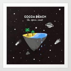 COCOA BEACH Art Print