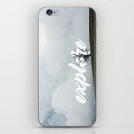 Explore // #TravelSeries iPhone Skin
