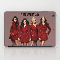 pretty little liars iPad Cases featuring #WCEveryday Pretty Little Liars cast by Illuminany
