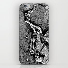 Remains of Prehistoric Man iPhone Skin