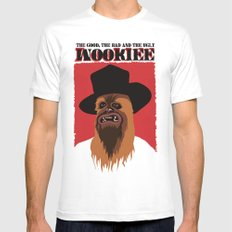 The Good, The Bad and The Ugly Wookie Mens Fitted Tee White MEDIUM