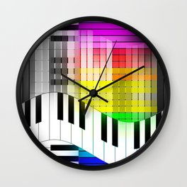 Feel the Jazz Wall Clock